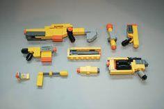 Image result for lego nerf guns