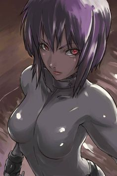 Ghost in the Shell - Motoko Kusanagi