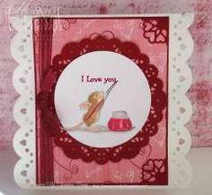 """Amanda Writes I Love you"" by Christine Craig on House-Mouse Designs®"
