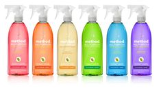 Happy Clean. Method products make cleaning a pleasure. Voted #1 all purpose cleaner by American Test Kitchen.