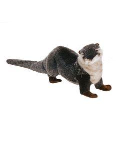 River Otter Plush Toy #zulilyfinds