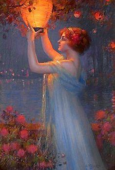 Image result for Helen M. Turner Girl with lantern