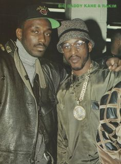 Big Daddy Kane & Rakim. Such a great photo that I had to pin it somewhere. Well, since the shot was taken back in the day, it qualifies for Generations.  :-)
