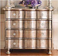 Rose gold dresser redo