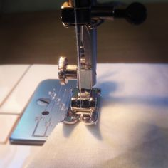 Creating and designing garments on my sewing machine.
