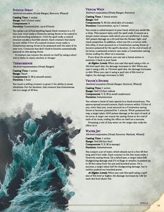 Post with 11814 views. [Monster] The Book of Hordes - Rules for Mass Warfare Dungeons And Dragons Rules, Dungeons And Dragons Homebrew, Ranger Dnd, Water Spells, Dnd Stats, Create Your Own Adventure, Dnd Classes, Dungeon Master's Guide, Writing Fantasy