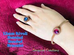 Buy Bracelets Online for Best Prices in India Beaded Bracelet Patterns, Seed Bead Bracelets, Seed Bead Earrings, Seed Beads, Ring Tutorial, Bracelet Tutorial, Bead Crochet Rope, Diy Schmuck, Seed Bead Tutorials