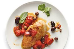 Chicken With Tomatoes, Capers and Olives by Mark Bittman
