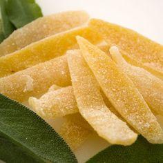 Lemon and sage Candied Lemon Peel