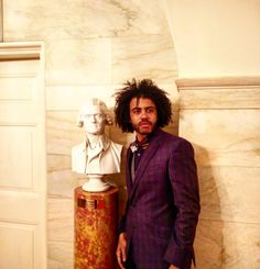 "In honor of Thomas Jefferson's birthday, we are drooling over these photos of ""Hamilton"" star Daveed Diggs. Cast Of Hamilton, Hamilton Musical, Hamilton Broadway, Hamilton Star, Hamilton Lin Manuel, Lin Manuel Miranda, Thomas Jefferson Birthday, Thomas Jefferson Hamilton, Daveed Diggs"