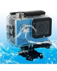 SJ8000 WiFi Novatek 96660 Ultra HD 4K 2.0 inch LCD Sports Camcorder with Waterproof Case, 170 Degrees Wide Angle Lens, 30m Waterproof(Blue)