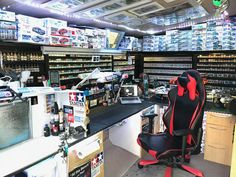 Hobby Desk, Hobby Room, Tool Organization, Man Cave, Hobbies, Workshop, Work Spaces, Projects, Crafts