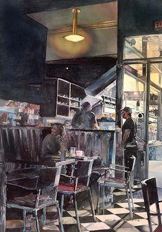 "John Salminen, ""Morning Coffee,"" ca. 2013."