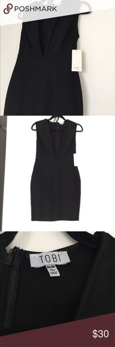 Black TOBI dress NWT SZ M Black TOBI dress NWT SZ M Tobi Dresses
