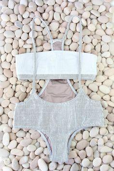 Made by Dawn - Jumper PinFoam Bikini