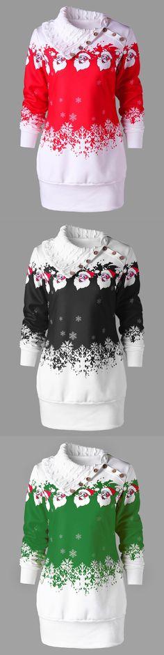 $14.21,Plus Size Santa Claus Print Tunic Sweatshirt Dress - Red 3xl | rosewholesale, rosewholesale.com, rosewholesale.com clothing, rosewholesale dress, rosewholesale dress plus size, rosewholesale shirts, rosewholesale plus size,rosewholesale clothes, plus size, tops, sweatshirts, hoodies, Santa Claus, christmas | #rosewholesale #plussize #tops #sweatshirt #christmas