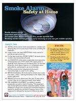 Smoke alarms tip sheet