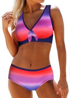 Printed V Neck Bikini Bra and Panty on sale only US$26.35 now, buy cheap Printed V Neck Bikini Bra and Panty at liligal.com Bikini Swimwear, Bikini Set, Swimsuits, Bikini For Women, Swim Dress, Bra Styles, Bathing Suits, Look, Chelsea