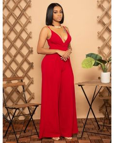 This jumpsuit features, a stretchy fabric, off shoulder neckline, wide bottoms, finished with a hidden side zipper closure Model is wearing a. Black Women Fashion, Curvy Fashion, Womens Fashion, Dollhouse Dresses, Bloom Fashion, Spring Fashion, Girl Outfits, Fashion Outfits, Fashion Hats