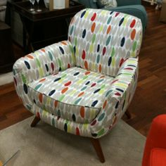 Laura ashley wallace print vintage retro style blackout sun block laura ashley colinton chair in wallace i think this would be super comfortable for gumiabroncs Images