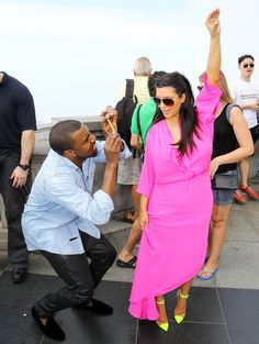 Kim Kardashian And Kanye West At Their Most Likable: Tourists In Rio De Janeiro