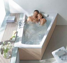 60 Inch tub with LOTS of legroom Double Bathtub, Bath Tub For Two, Big Bathtub, Jacuzzi Bathtub, Jetted Tub, Deep Bathtub, Big Tub, 2 Person Bathtub, Two Person Tub