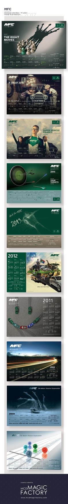 Client: MFC, a division of Nedbank Direct Mailer, Desk Pad, 2017 Design, Division, Campaign, Branding, Direct Mail, Brand Management, Brand Identity
