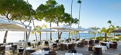 This would be a beautiful location for an elegant wedding reception. Tamarind