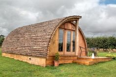(Tom's Eco Lodges) Quirky Places To Stay With The Kids In The UK: Modulogs, Isle of Wight (These new glamping pods in the Isle of Wight offer cosy accommodation for up to six people. The Modulogs pods are fully-insulated and kitted out with heaters, comfy sofas which fold out into sofa beds, log burners, dining tables, compact kitchens with all the essentials, two bedrooms, and a separate shower room and toilet. The pods offer WiFi and each has its own decked area with seating, a BBQ…