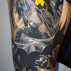Batman Sign Tattoo