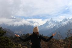 My favorite pic from the entire trek! View from the Everest View Hotel. #travel #adventure #hiking #mountains