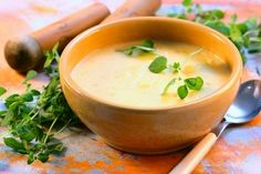 Potato Soup - Use leftover mashed potatoes to make this one!