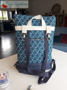 Cuir Vintage, Couture Sewing, Patchwork Bags, Diaper Bag, Backpacks, Fashion, Fabric Purses, Satchel Handbags, Couture Facile