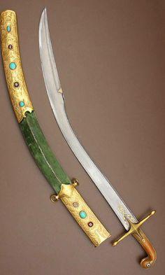 "Ottoman kilij, the short version known as ""pala""."