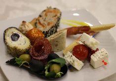 meniuri nunta botez green garden 04 Sushi, Cheese, Ethnic Recipes, Food, Eten, Meals, Sushi Rolls, Diet