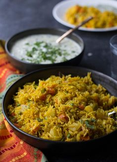Indian Vegetarian Recipes 405886985167687237 - Instant Pot Vegetable biryani is a healthy, one-pot Indian vegetarian rice dish that comes together in 30 minutes. An easy recipe for you to get you started with Instant Pot. Source by Ministryofcurry Vegetarian Rice Dishes, One Pot Vegetarian, Vegetarian Biryani, Vegetarian Benefits, Vegetarian Recipes Instant Pot, Indian Vegetarian Recipes, Instapot Vegetarian Recipes, Veg Biryani, Vegetarian Italian