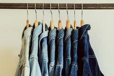 Retrock - Retrock - cutting edge fashion from Budapest based vintage & designer shop Denim Jacket Men, Denim Jackets, Look Man, Vintage Denim, Vintage Designs, Vintage Outfits, Collections, Shopping, Women