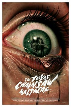 The Texas Chainsaw Massacre Horror movie poster Slasher