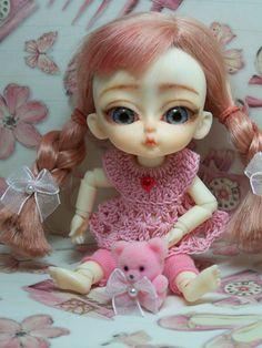 Custom Hujoo Cojoo MAISY 12cm BJD Doll with Fitted by sassygrace, $180.00