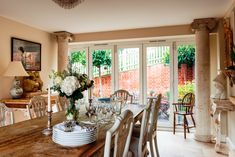 Reproduction Furniture, Traditional Furniture, Dining Room, Windows, House, Inspiration, Biblical Inspiration, Home, Dining Rooms