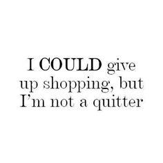 Not a quitter :)
