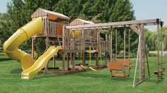 Customize your swingset by calling us today!