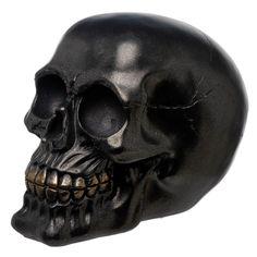 Gothic Pirate Crâne Décoration-Bandana Rouge-Oeil chapeau cigar Statua