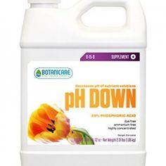 Botanicare pH Down Nutrient Solution, 1-Quart