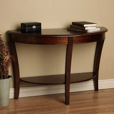 Half-round Sofa Table