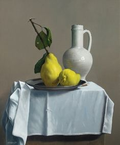'Quinces to Delight' by Belgian painter Willem Dolphyn Oil on panel, 50 x 60 cm. Still Life Drawing, Painting Still Life, Still Life Art, Still Life Photography, Fine Art Photography, Animal Photography, Fashion Photography, Abstract Photography, White Photography