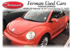 Used 2004 Volkswagen New Beetle Convertible 2dr GLS Manual Convertible