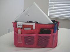 Travel Insert Handbag Organiser Purse Large Liner Organizer Lady Tidy Bag in Bag    eBay