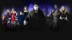 Tim Burton's Dark Shadows cast including Johnny Depp, Michelle Pfeiffer, Chloe Moretz, and Helena Bonham Carter. Not sure what I think of this.