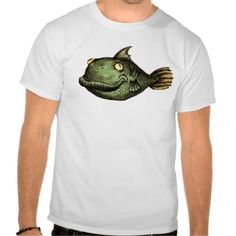 Strange #Fish #TShirt / #Camiseta #Pez extraño